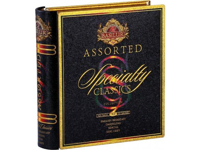 BASILUR Book Assorted Specialty plech 32 gastro sáčků