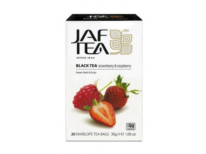 JAFTEA Black Strawberry & Raspberry přebal 20x1,5g