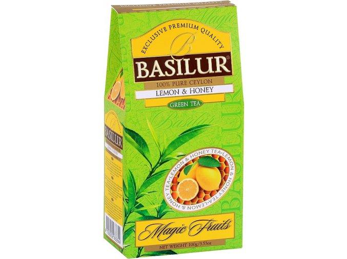 BASILUR Magic Green Lemon & Honey papír 100g
