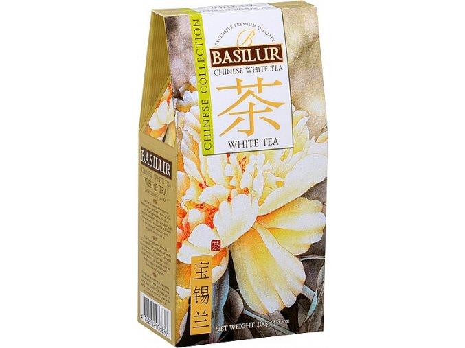 BASILUR Chinese White Tea papír 100g