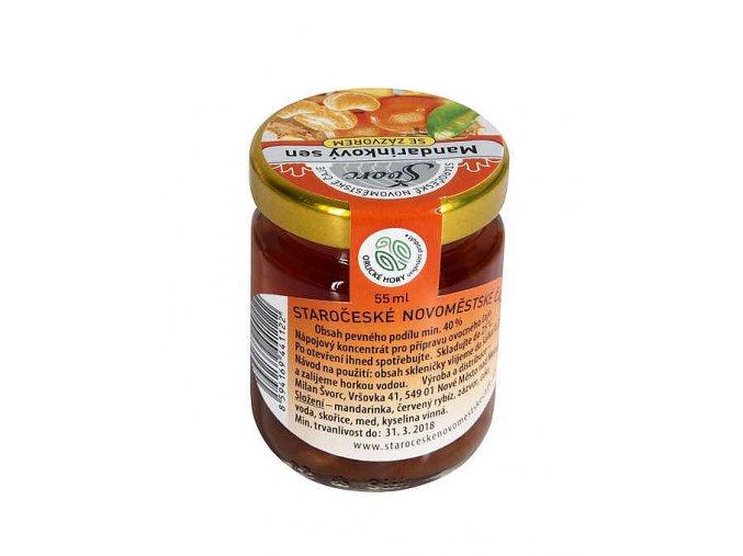 Pečený čaj Mandarinkový sen 55ml