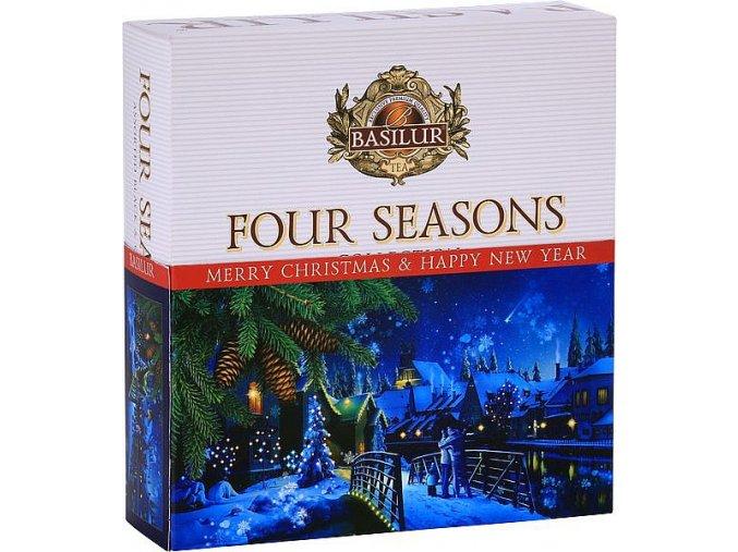 BASILUR Four Seasons Vánoční 010 Assorted přebal 40E