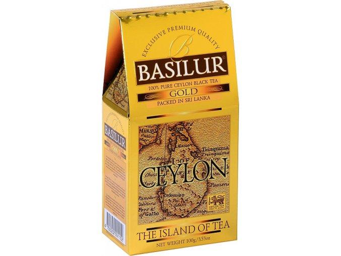 BASILUR Island of Tea Gold OP1 papír 100g