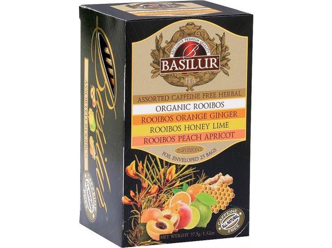 BASILUR Rooibos Assorted 25x1,5g