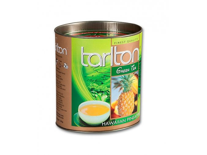 TARLTON Green Hawaian Pineapple dóza 100g