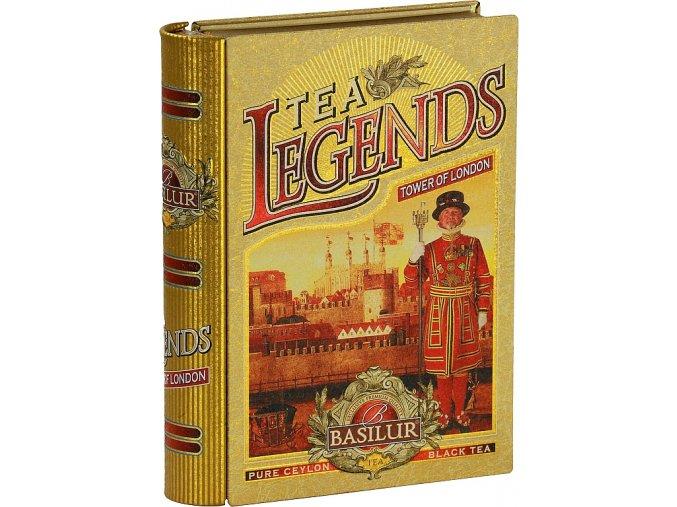 BASILUR Book Legends Tower of London plech 100g
