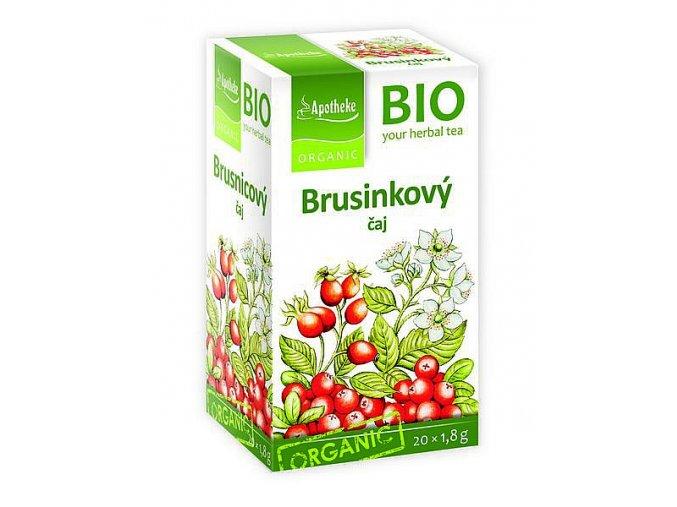 APOTHEKE BIO Brusinkový čaj 20x1.8g
