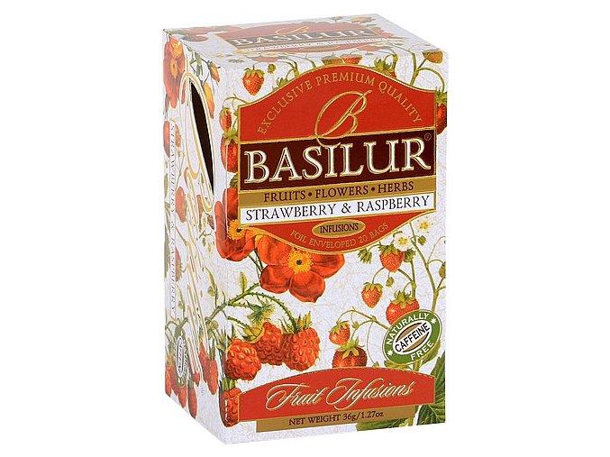BASILUR Fruit Strawberry & Raspberry přebal 20x1