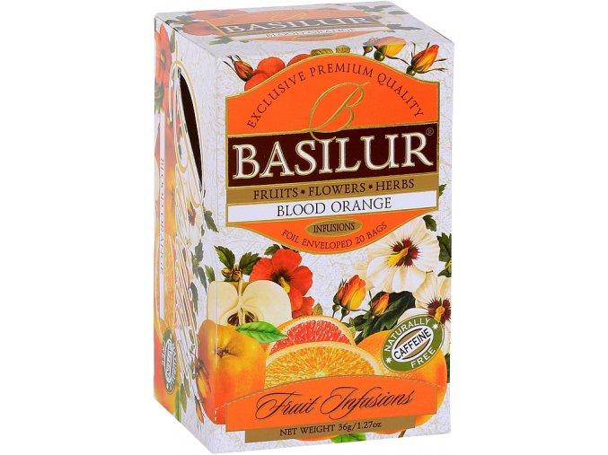 BASILUR Fruit Blood Orange přebal 25x1