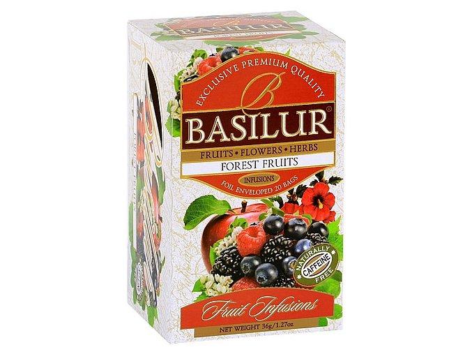 BASILUR Fruit Forest Fruit přebal 20x1,8g