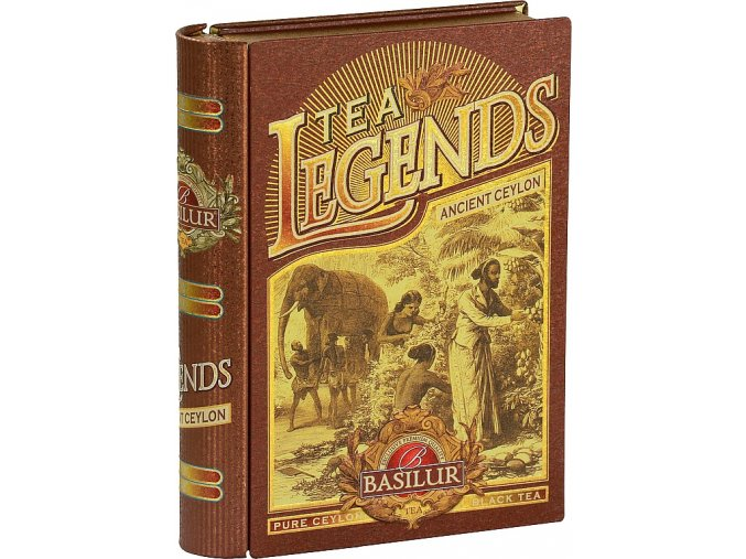 BASILUR Book Legends Ancient Ceylon plech 100g