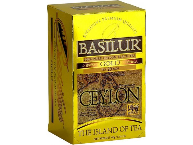 BASILUR Island of Tea Gold přebal 25x2g