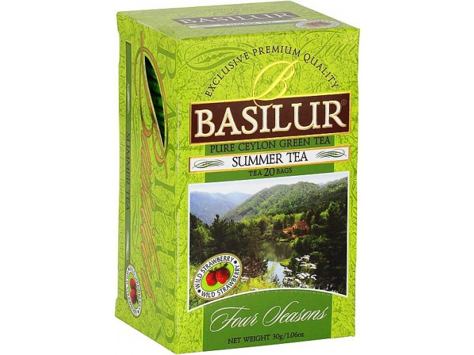 BASILUR Four Seasons Summer Tea přebal 20x1,5g