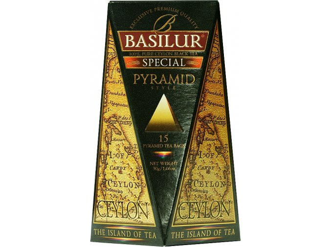 BASILUR Island of Tea Special Pyramid 15x2g