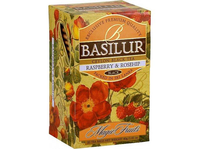 BASILUR Magic Raspberry & Rosehip přebal 20x2g