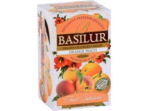 BASILUR Fruit Orange Peach přebal 25x1,8g