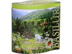BASILUR Four Seasons Summer Tea plech 100g