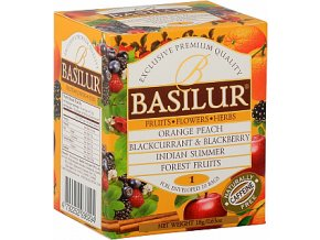 BASILUR Fruit Infusions Assorted Vol. I. přebal 10x1,8g