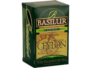 BASILUR Island of Tea Green přebal 20x1.5g
