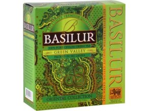 BASILUR Orient Green Valley nepřebal 100x1,5g