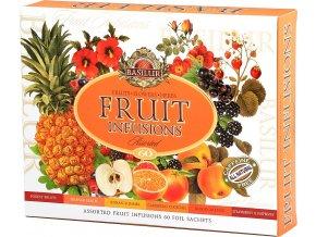 BASILUR Fruit Infusions Assorted přebal 60 gastro sáčků