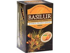 BASILUR Rooibos Orange Ginger přebal 25x1,5g