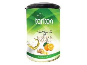 TARLTON Green Ginger & Orange dóza 100g