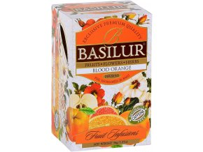 BASILUR Fruit Blood Orange přebal 25x1