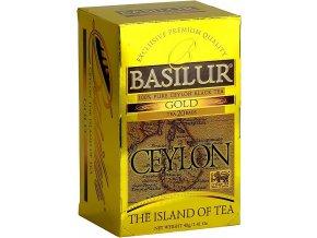 BASILUR Island of Tea Gold přebal 25x2g