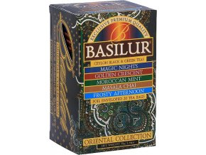 BASILUR Orient Assorted přebal 25 gastro sáčků
