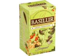BASILUR Bouquet Green Freshness přebal 20x1,5g