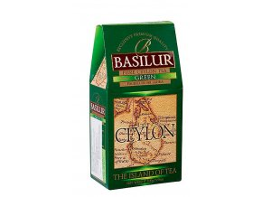BASILUR Island of Tea Ceylon Green papír 100g