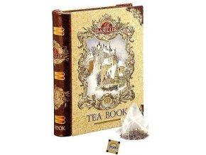 BASILUR Book Gold Pyramid malá II. 5x2g