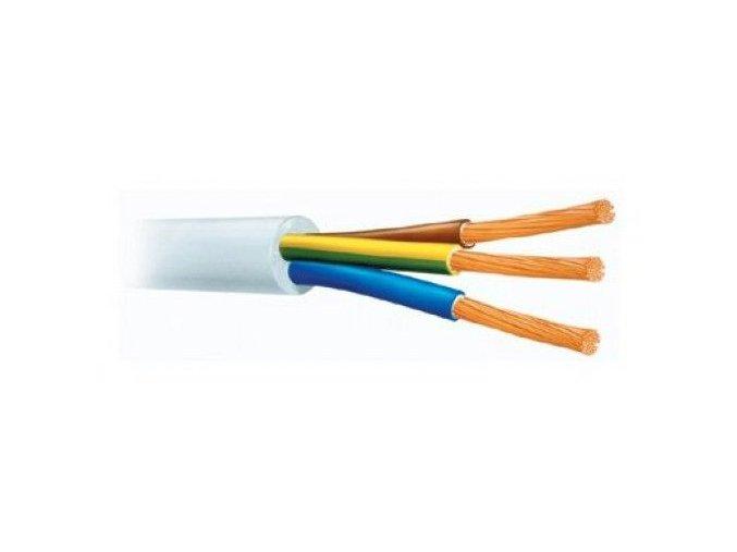 Bílý kabel 3G 1,5mm