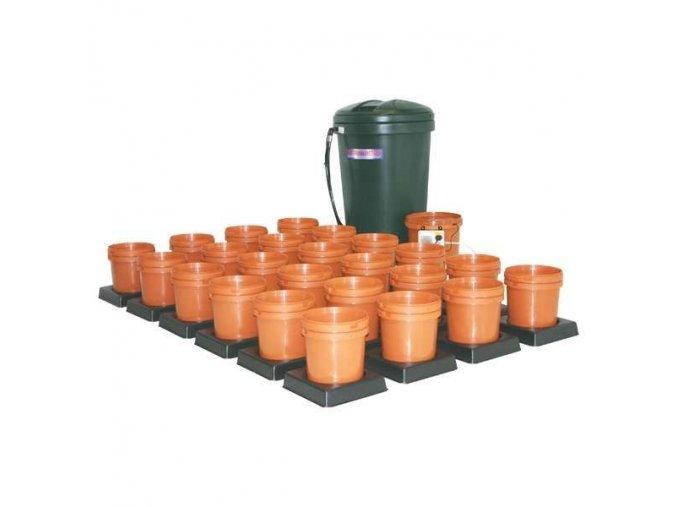 Multiflow V1 - 24 květníků, 250l tank