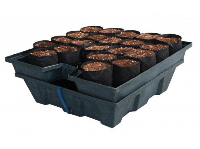 Ebb & Grow 100l, Smart Pots 24ks