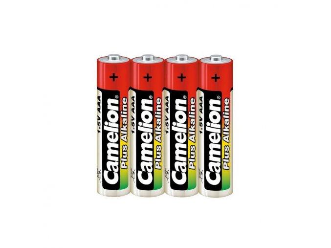 baterie camelion plus alkaline aaa 4 ks
