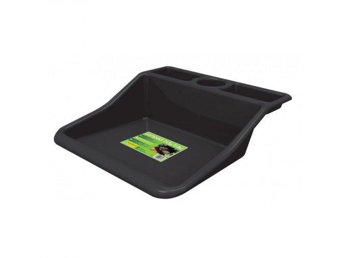g185b compact tidy tray black