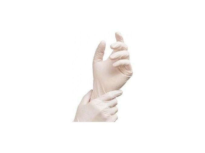 Latexové rukavice M