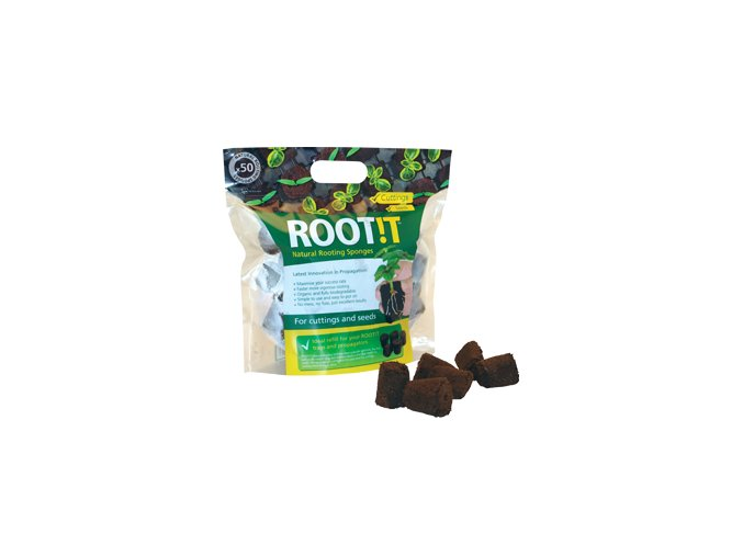 Natural rooting sponges 50 refill bag
