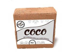 Lisovaný kokos