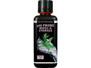 growth technology ph probe refill storage 300 ml kcl