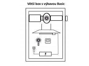 Větší box s výbavou Basic