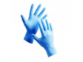 ochranne jednorazove nitrilove rukavice