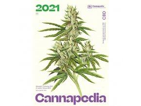 Kalendar Cannapedia 2021 CBD konopne odrudy titulka