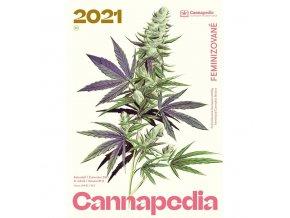 Kalendar Cannapedia 2021 Feminizovane konopne odrudy titulka