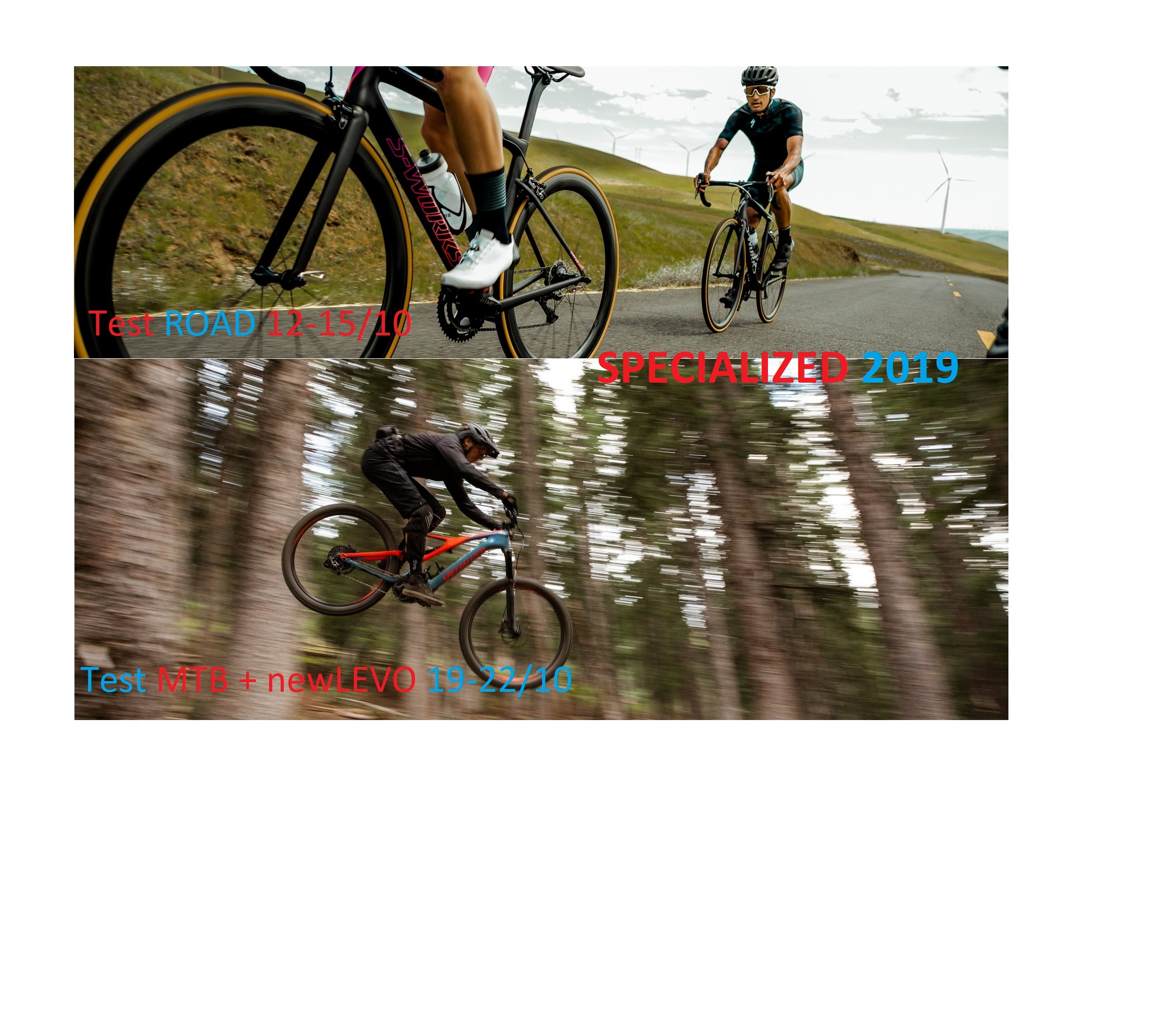 Test Specialized Road + MTB 2019