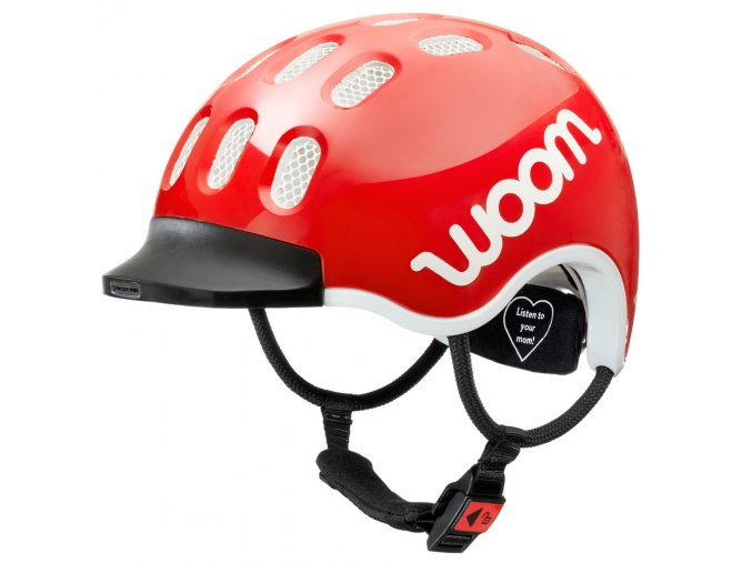 woom helmet red slant kopie