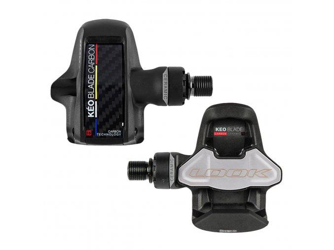 65505 look keo blade carbon ceramic ti axle road pedals