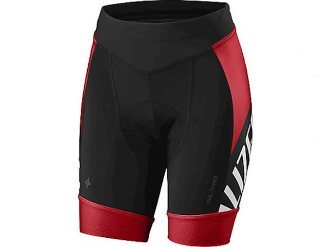 Specialized Sl Pro Short Wmn Red/Blk